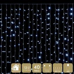 CORTINA 480 LED BLANCO