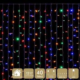 CORTINA 480 LED MULTICOLOR